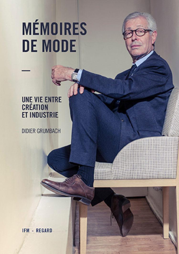 Couverture de l'ouvrage, Didier Grumbach assis sur une chaise
