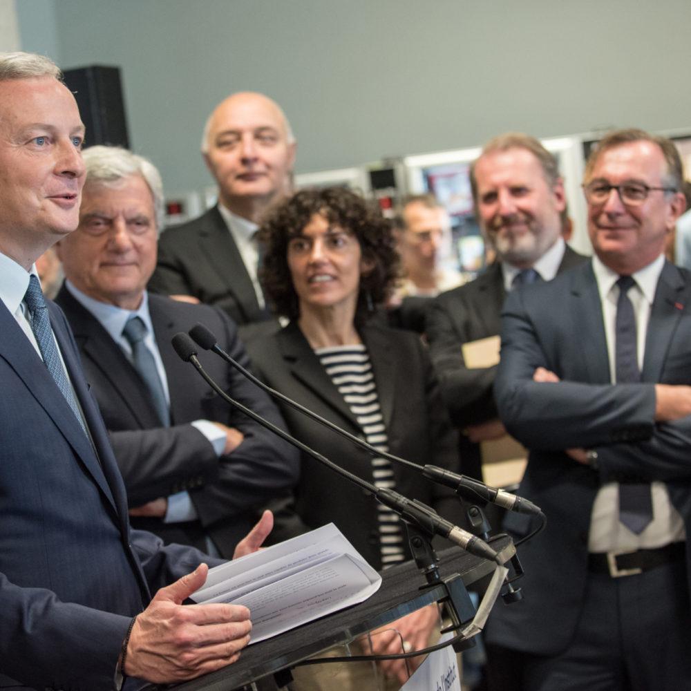 Press conference, official launch of the new Institut Français de la Mode
