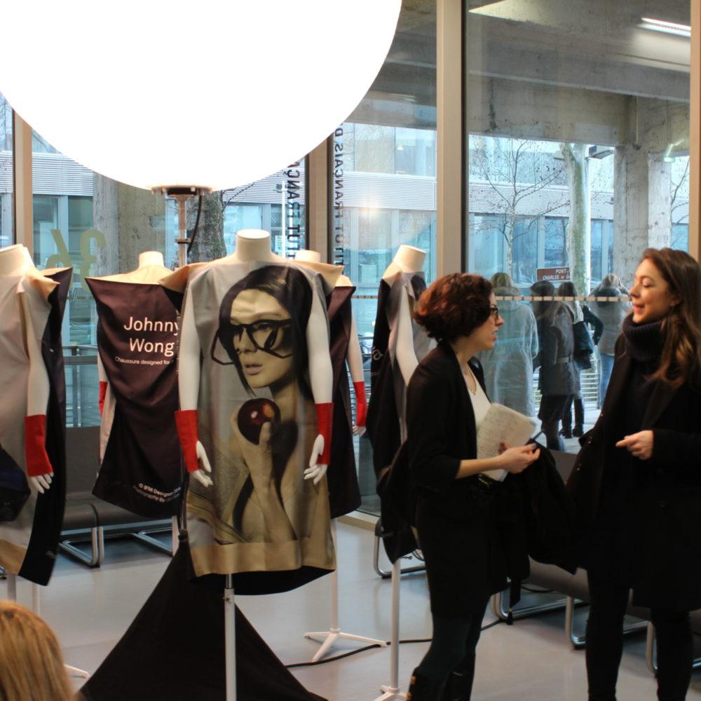Colloque sur la haute couture parisienne à l'Institut Français de la Mode