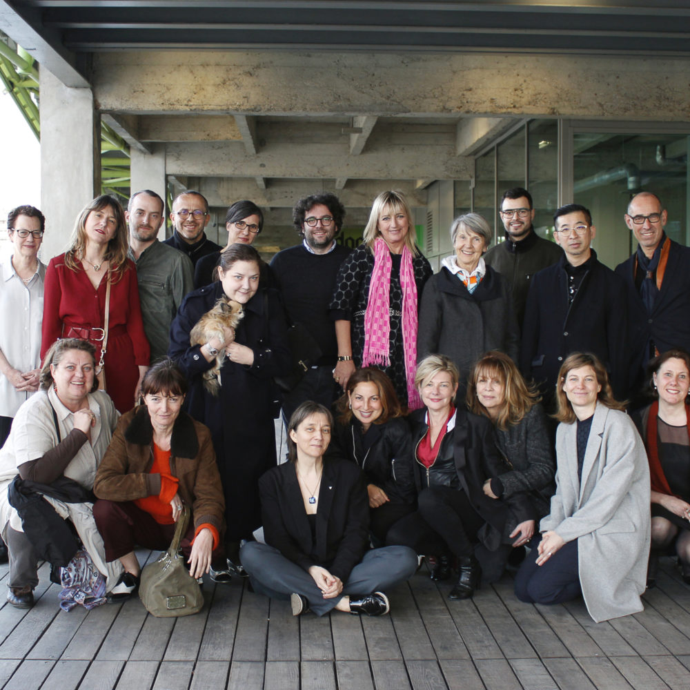 Photo de groupe des participants à la session Fashion Dreamers