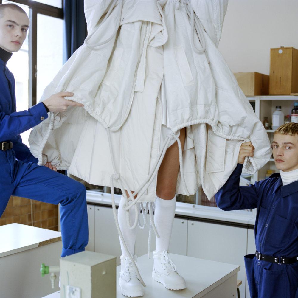 Fashion studies in Paris: photo illustrating the Major in Creative Pattern Making
