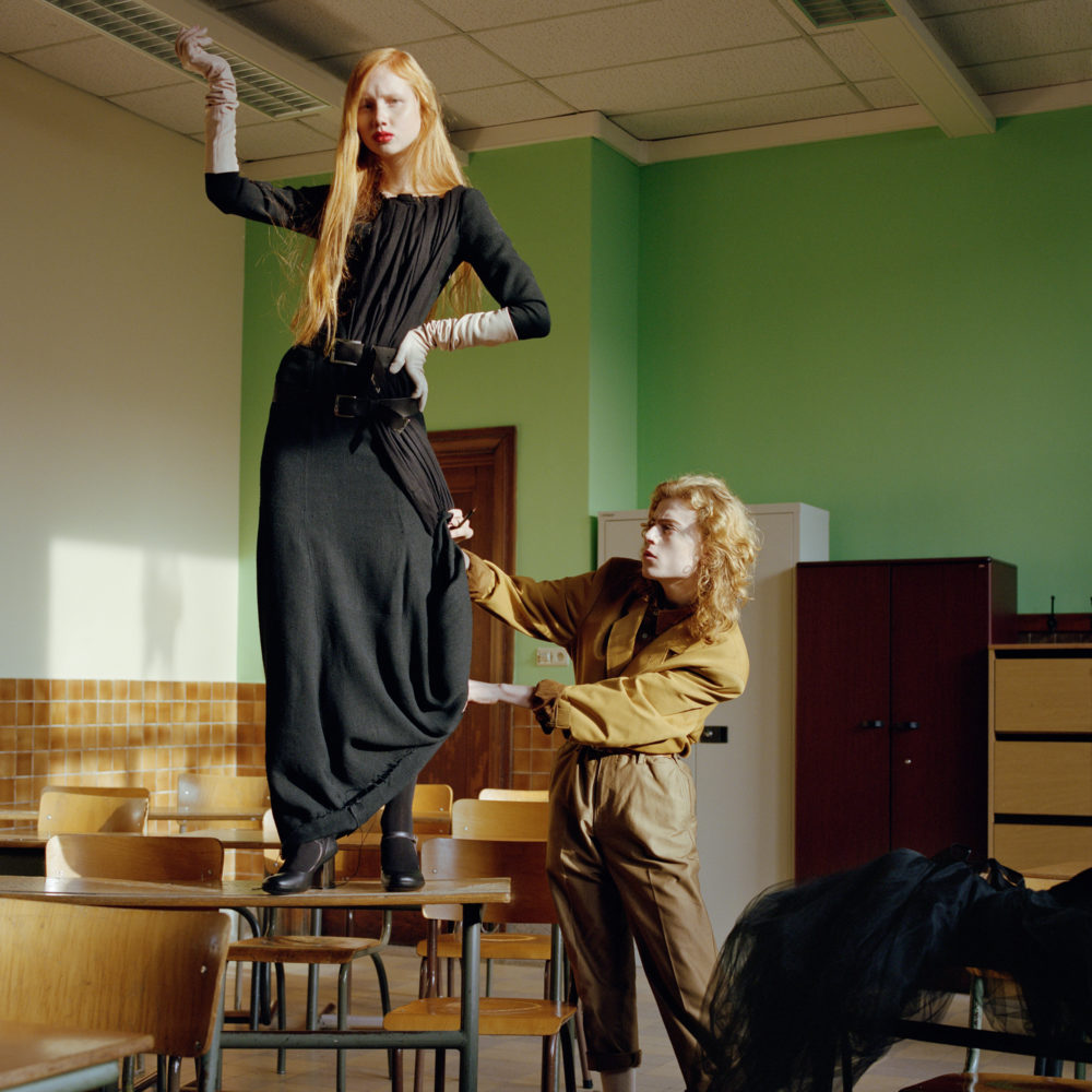 Fashion photo illustrating the Master of Arts in Fashion Design offered in Paris